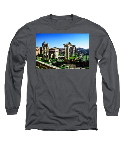 Roman Forum Long Sleeve T-Shirt
