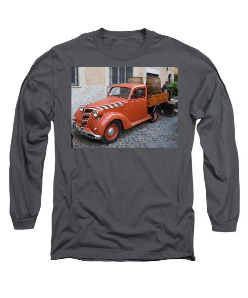 Roman Street Parking And Shopping Long Sleeve T-Shirt