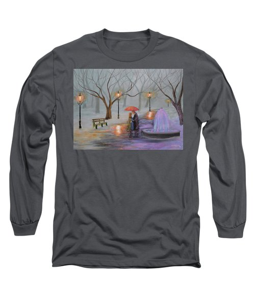 Romance In The Park Long Sleeve T-Shirt