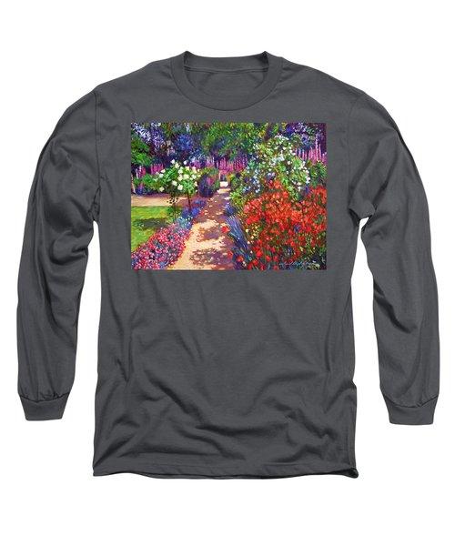 Romantic Garden Walk Long Sleeve T-Shirt