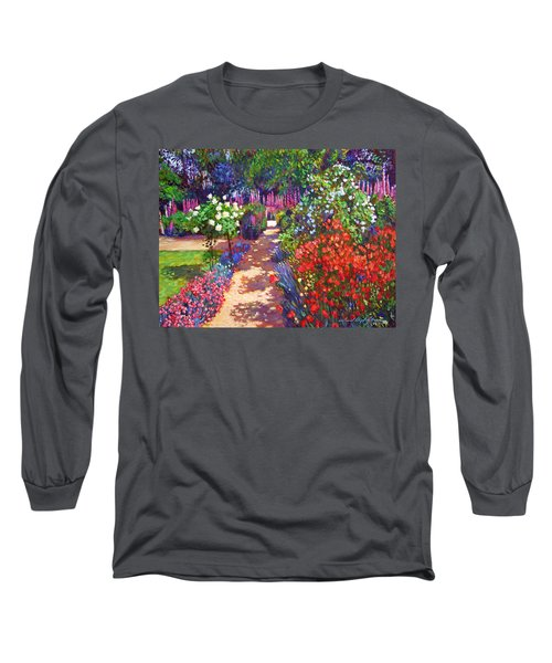 Romantic Garden Walk Long Sleeve T-Shirt