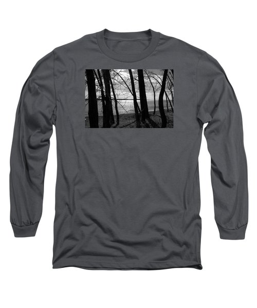 Long Sleeve T-Shirt featuring the photograph Romantic Lake by Valentino Visentini