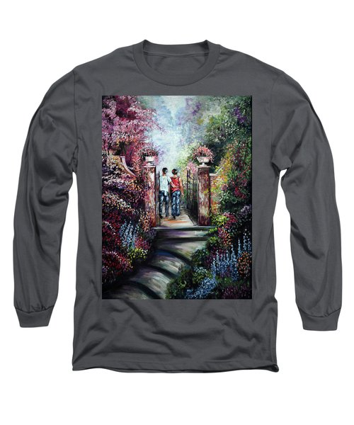Romantic Landscape Long Sleeve T-Shirt