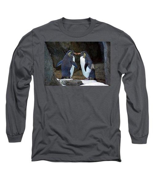 Romantic Rockhoppers Long Sleeve T-Shirt