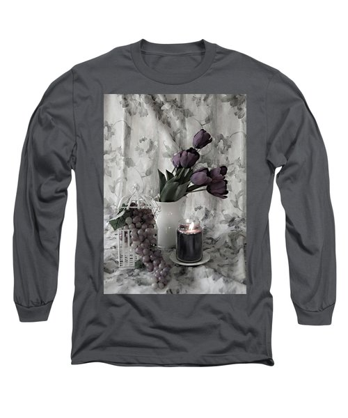 Long Sleeve T-Shirt featuring the photograph Romantic Thoughts by Sherry Hallemeier