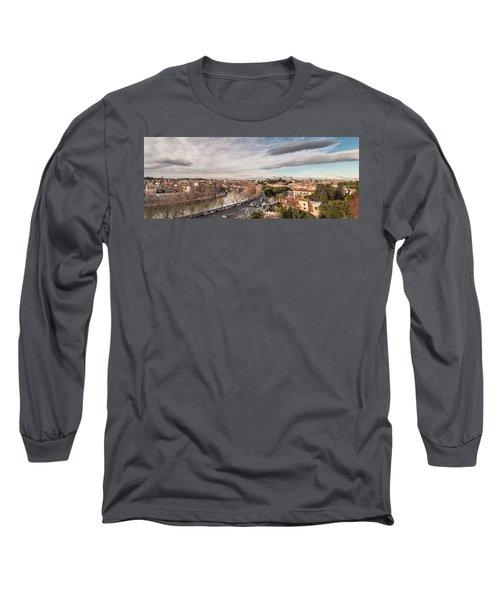 Rome - Panorama  Long Sleeve T-Shirt