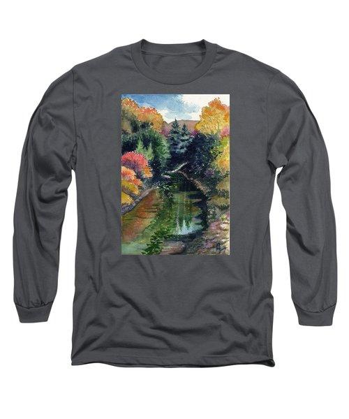 Ronceverte, Wv Long Sleeve T-Shirt by Katherine Miller
