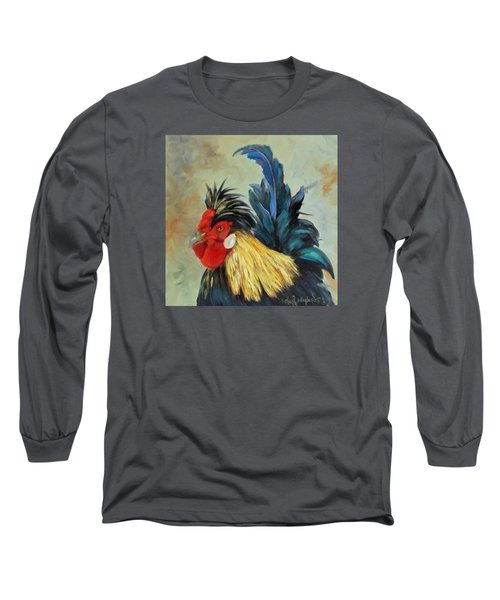 Long Sleeve T-Shirt featuring the painting Roo by Cheri Wollenberg