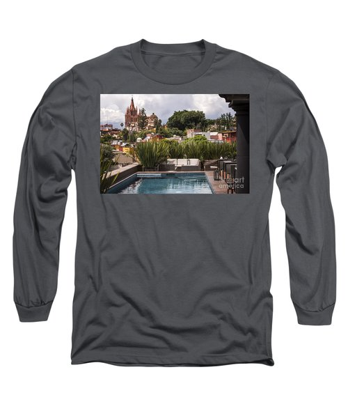 Rooftops Of San Miguel Mexico Long Sleeve T-Shirt