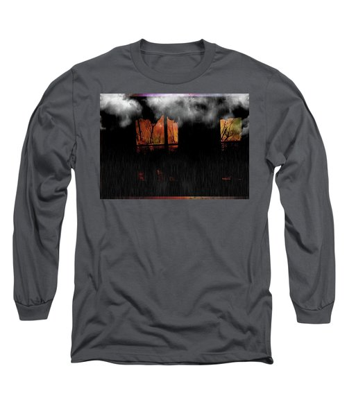 Room With Clouds Long Sleeve T-Shirt