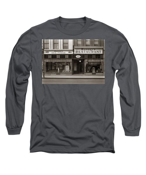 Rooney's Restaurant Wilkes Barre Pa 1940s Long Sleeve T-Shirt