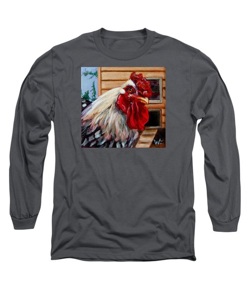 Roopert Long Sleeve T-Shirt by Pattie Wall