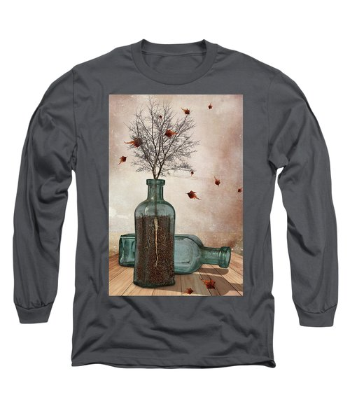 Rooted Long Sleeve T-Shirt by Mihaela Pater
