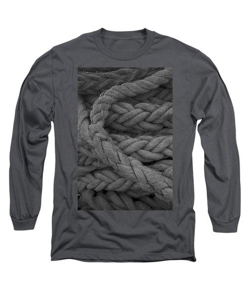 Rope I Long Sleeve T-Shirt by Henri Irizarri