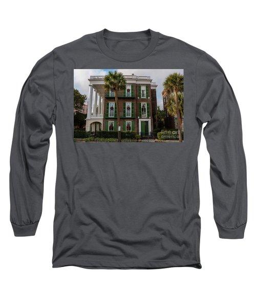 Roper Mansion In December Long Sleeve T-Shirt