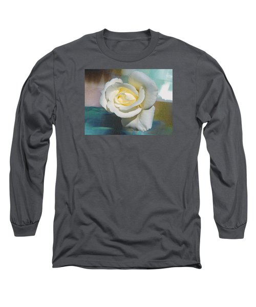 Long Sleeve T-Shirt featuring the photograph Rose And Lights by Helen Haw