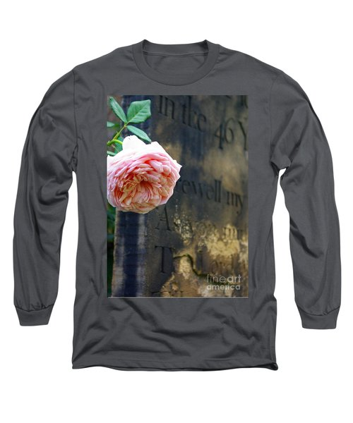 Rose At The Grave Long Sleeve T-Shirt
