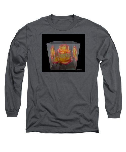 Rose Block Long Sleeve T-Shirt