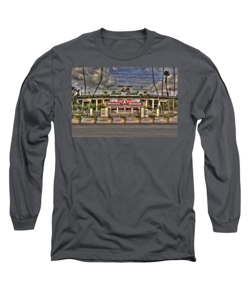 Rose Bowl Hdr Long Sleeve T-Shirt