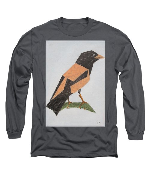 Rose-coloured Starling Long Sleeve T-Shirt