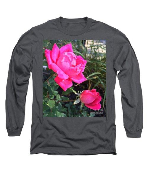 Rose Duet Long Sleeve T-Shirt