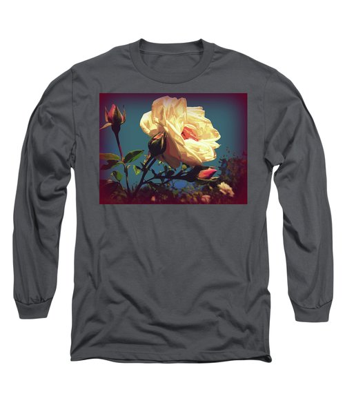 Rose Facing The Sun Long Sleeve T-Shirt