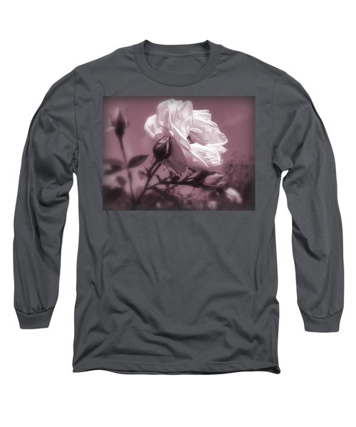 Rose In Rose Long Sleeve T-Shirt