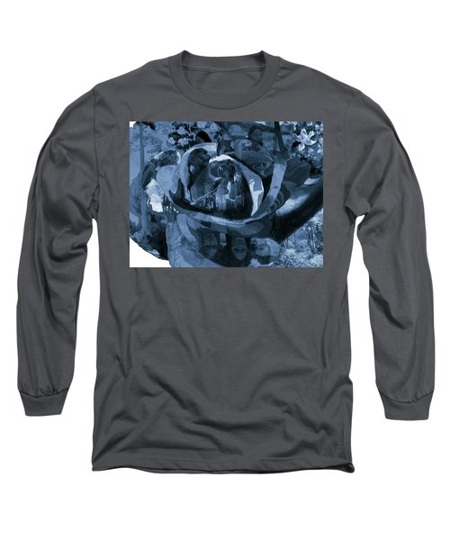 Rose No 1 Long Sleeve T-Shirt by David Bridburg