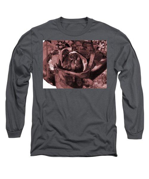 Rose No 2 Long Sleeve T-Shirt