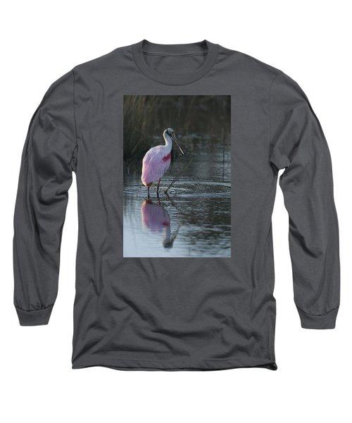 Roseate Spoonbill Long Sleeve T-Shirt