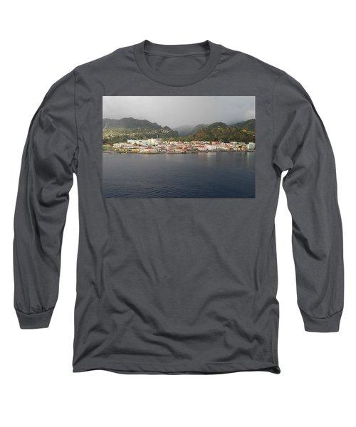 Roseau Dominica Long Sleeve T-Shirt