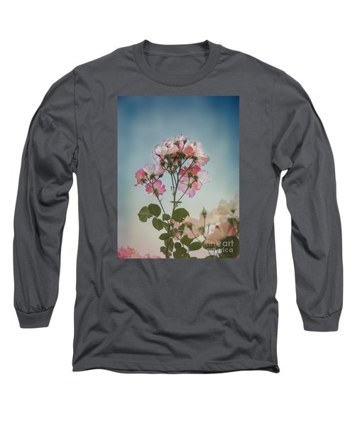 Long Sleeve T-Shirt featuring the photograph Roses In The Sky by Elaine Teague