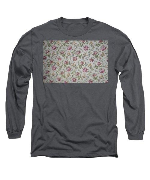 Roses Long Sleeve T-Shirt by Thomas M Pikolin