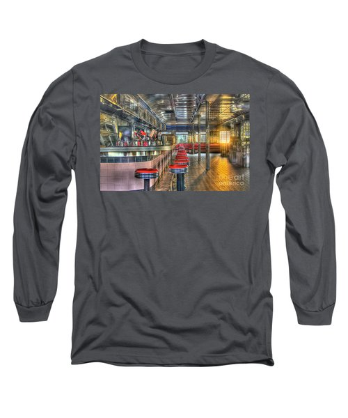 Rosies Diner Long Sleeve T-Shirt