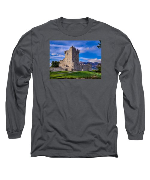 Long Sleeve T-Shirt featuring the photograph Ross Castle by Juergen Klust