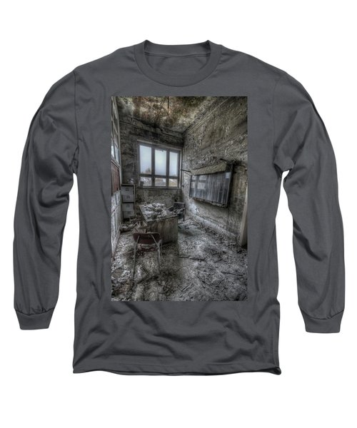 Rotten Office Long Sleeve T-Shirt by Nathan Wright
