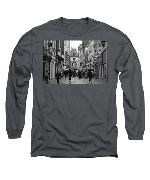 Rouen Street Long Sleeve T-Shirt by Eric Tressler
