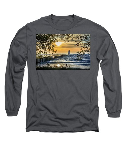 Long Sleeve T-Shirt featuring the photograph Rough Opening by Bill Pevlor