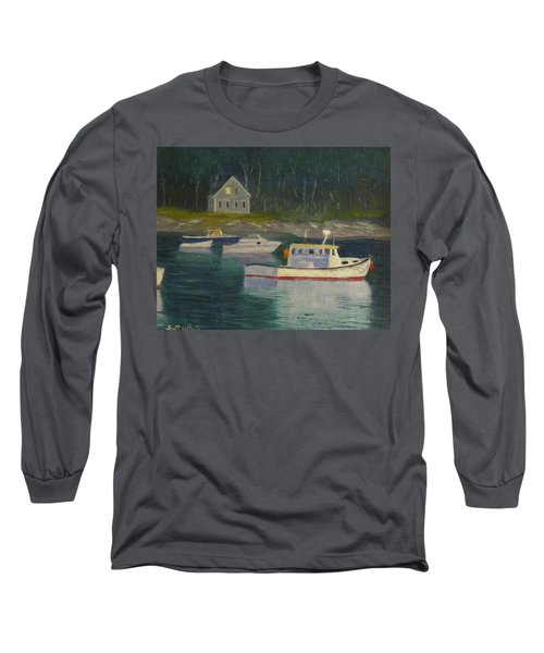 Round Pond Fading Light Long Sleeve T-Shirt