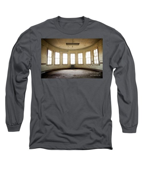 Round Room Long Sleeve T-Shirt by Randall Cogle