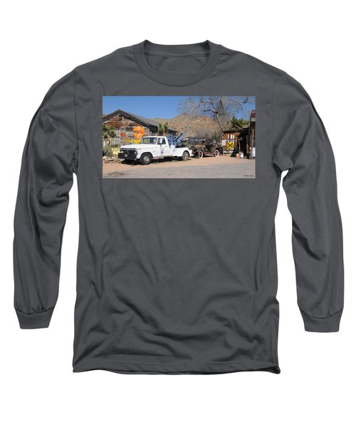 Route 66 Old Shell Service Station Long Sleeve T-Shirt