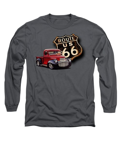 Route 66 Pickup Long Sleeve T-Shirt