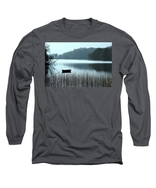 Rowboat On Muckross Lake Long Sleeve T-Shirt