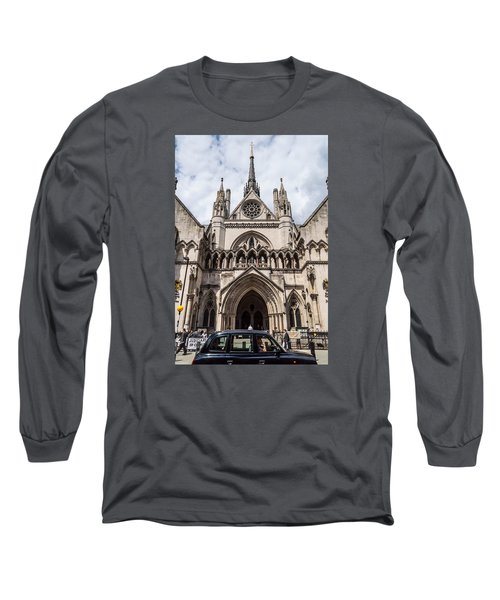 Royal Courts Of Justice In London Long Sleeve T-Shirt