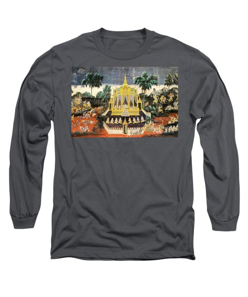 Royal Palace Ramayana 10 Long Sleeve T-Shirt
