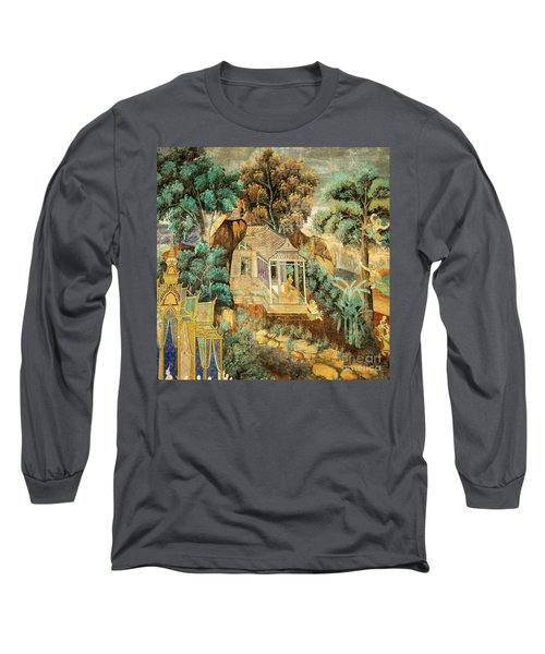 Royal Palace Ramayana 12 Long Sleeve T-Shirt