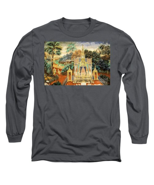 Royal Palace Ramayana 13 Long Sleeve T-Shirt