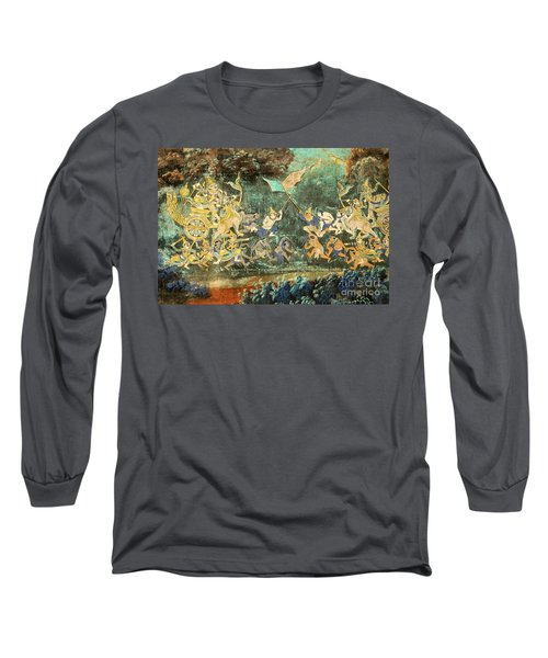Royal Palace Ramayana 14 Long Sleeve T-Shirt
