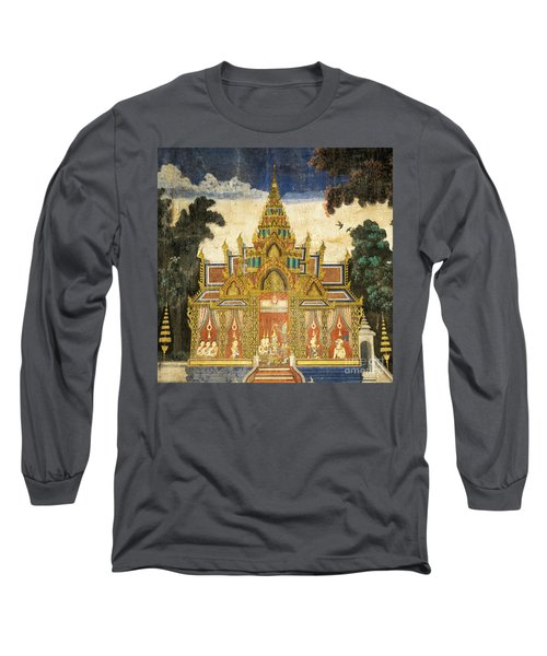 Royal Palace Ramayana 17 Long Sleeve T-Shirt