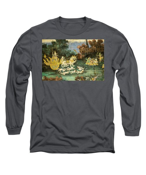 Royal Palace Ramayana 19 Long Sleeve T-Shirt